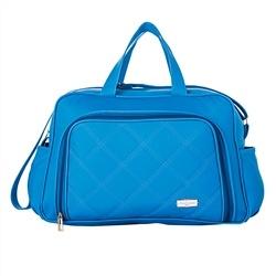 Bolsa G Maternidade Paris Azul