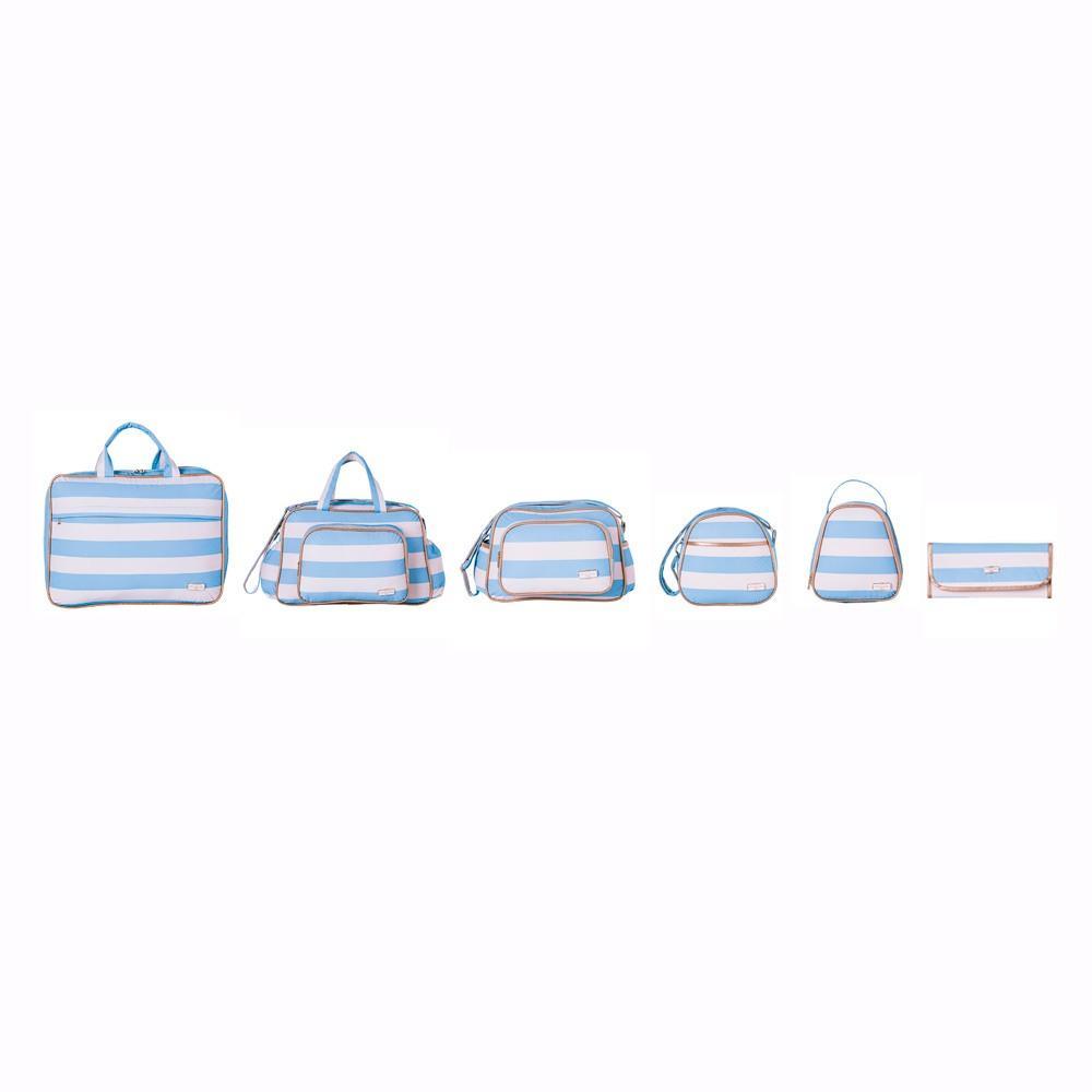 Conjunto de Bolsas Maternidade Harmonia Azul