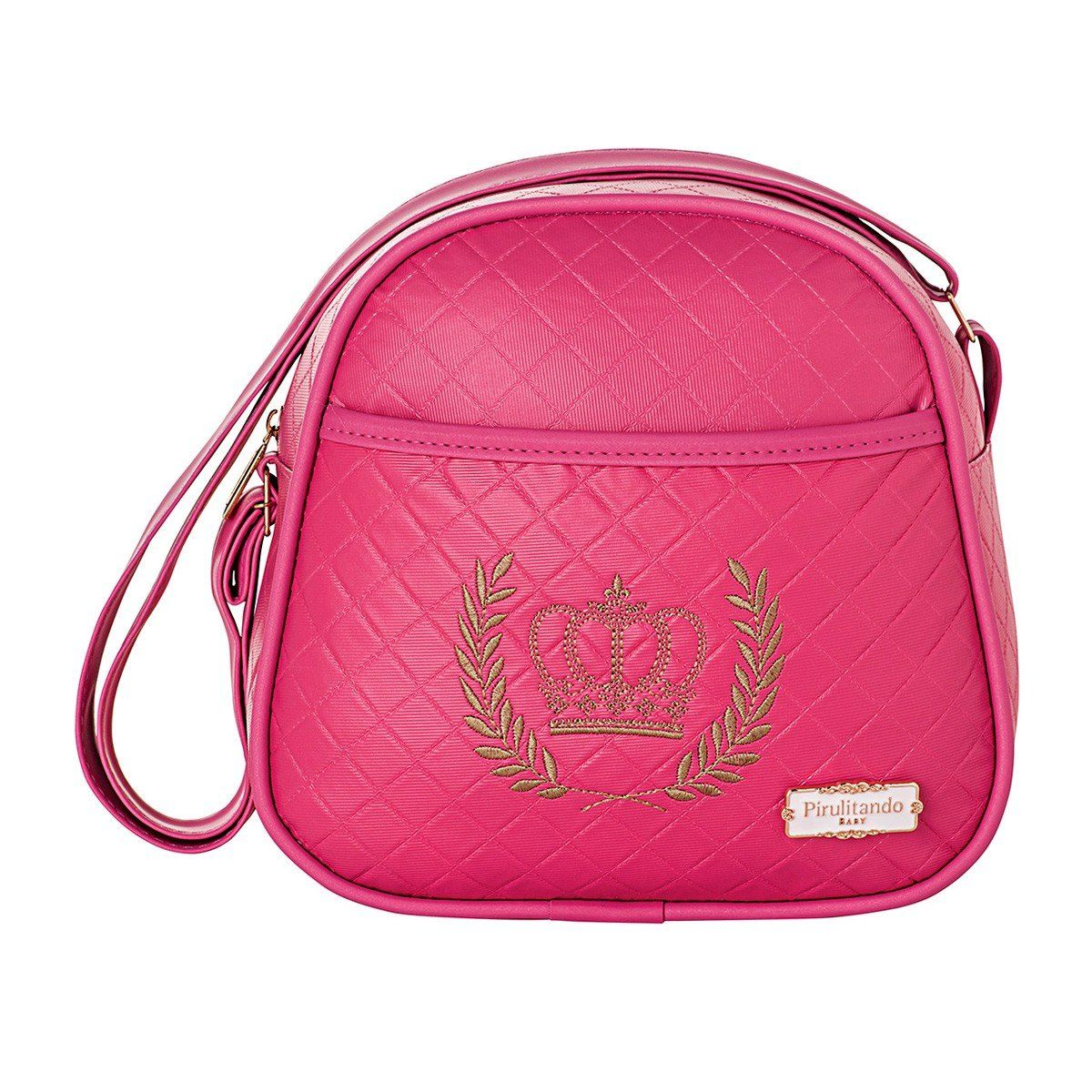 Frasqueira Térmica Maternidade Majestade Pink