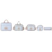 Conjunto de Bolsas Maternidade Bambini Azul