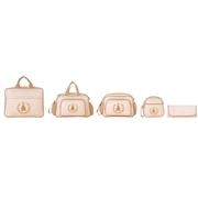 Conjunto de Bolsas Maternidade Bambini Marfim