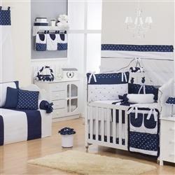 Quarto para Bebê Realeza Coroa Marinho