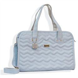 Bolsa Maternidade Marina Luxo Azul