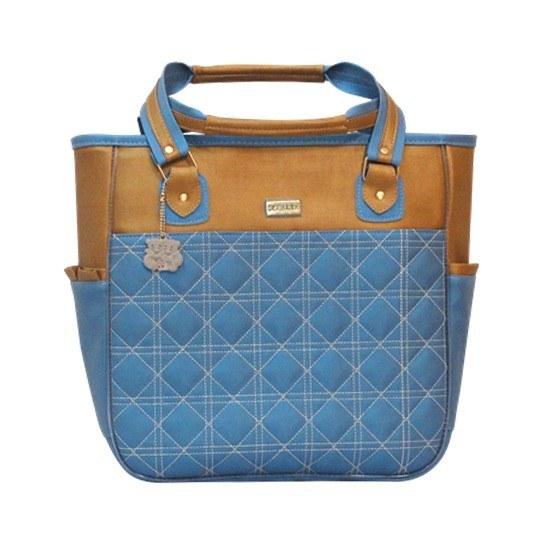 Bolsa Maternidade Chanel Azul