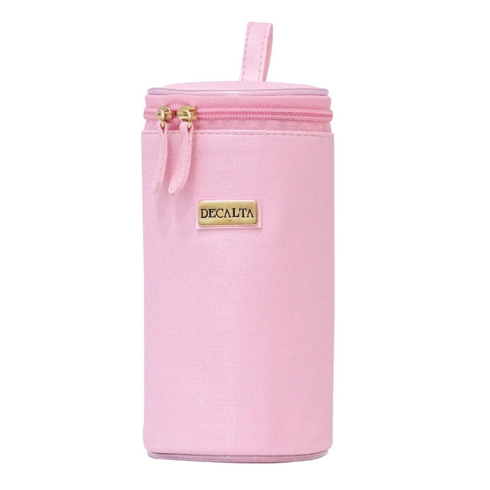 Porta Mamadeira Maternidade Térmico Rosa