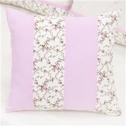 Almofada Decorativa Repartições Carinha de Anjo Rosa