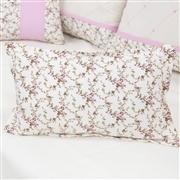 Almofada Decorativa Estampada Carinha de Anjo Rosa