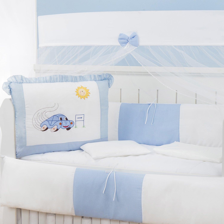 Kit Berço Fusca Azul