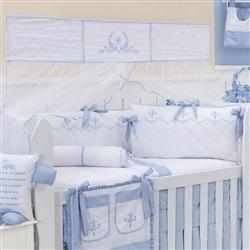 Kit Berço Versailles Azul