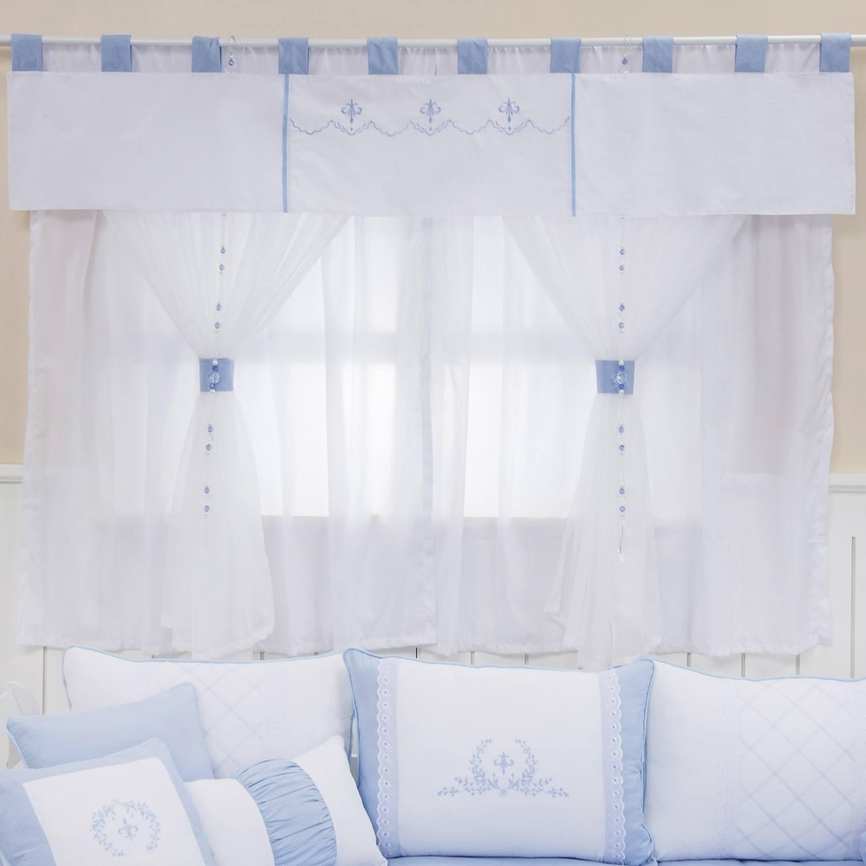 Cortina Versailles Azul