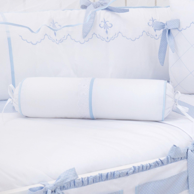 Almofada Apoio Bala Versailles Azul