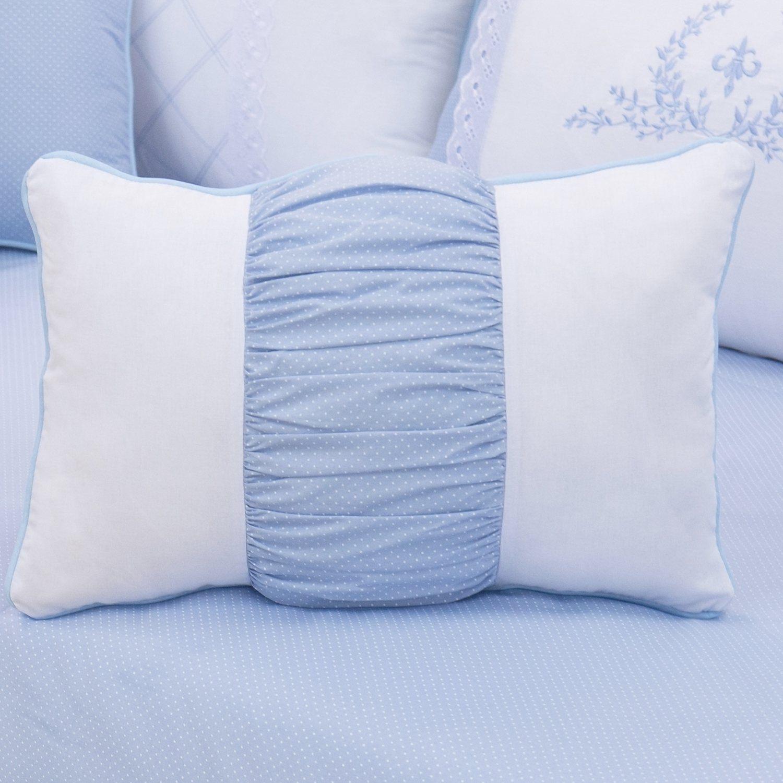 Almofada Retangular Versailles Azul