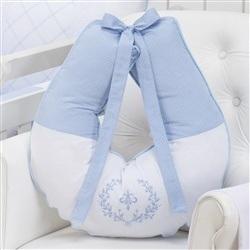 Almofada para Amamentação Versailles Azul