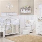 Quarto para Bebê sem Cama Babá Versailles Cáqui