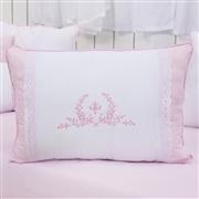 Kit Cama Babá Versailles Rosa