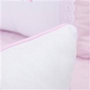 Almofada Retangular Versailles Rosa