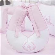 Quarto para Bebê Versailles Rosa