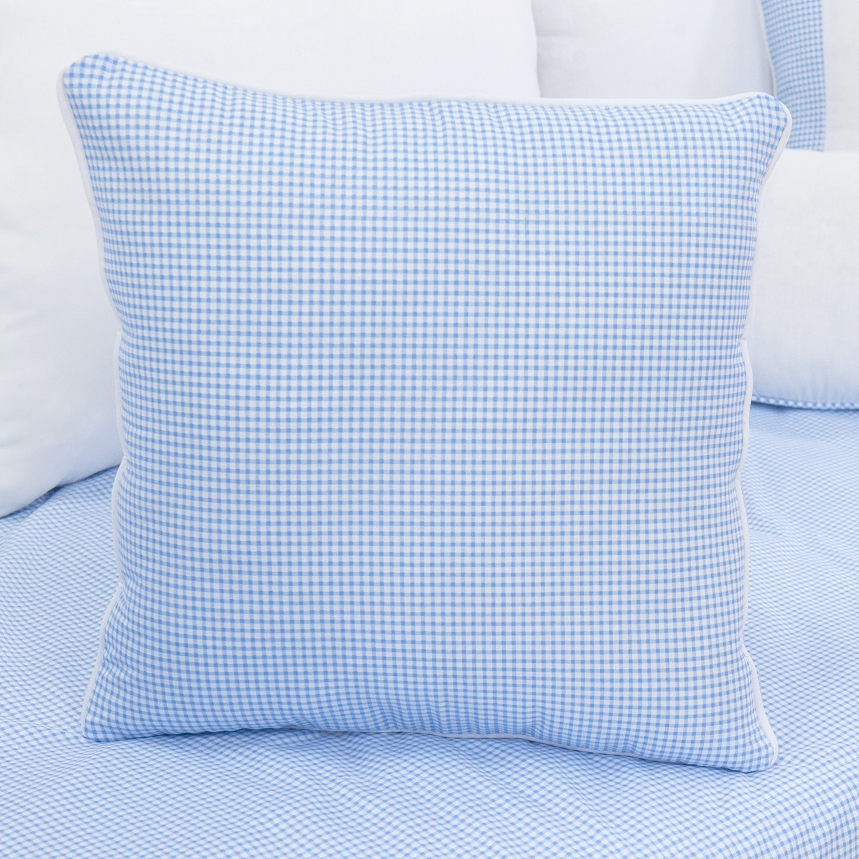 Almofada Lisa Cavalinho Azul