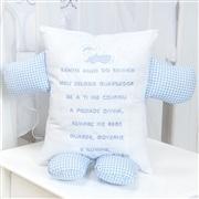 Quarto para Bebê sem Cama Babá Cavalinho Azul