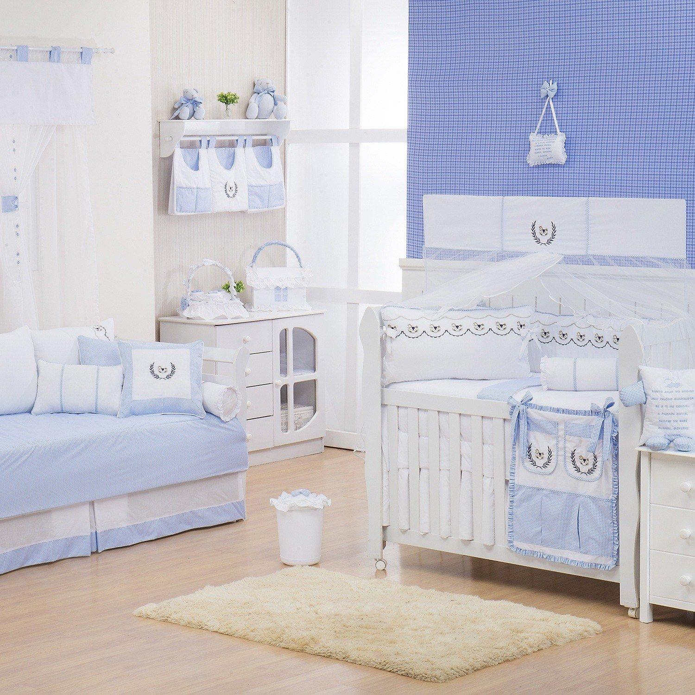 Quarto para Bebê Cavalinho Azul