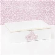 Kit Higiene Completo Realeza Rosê com Pérolas