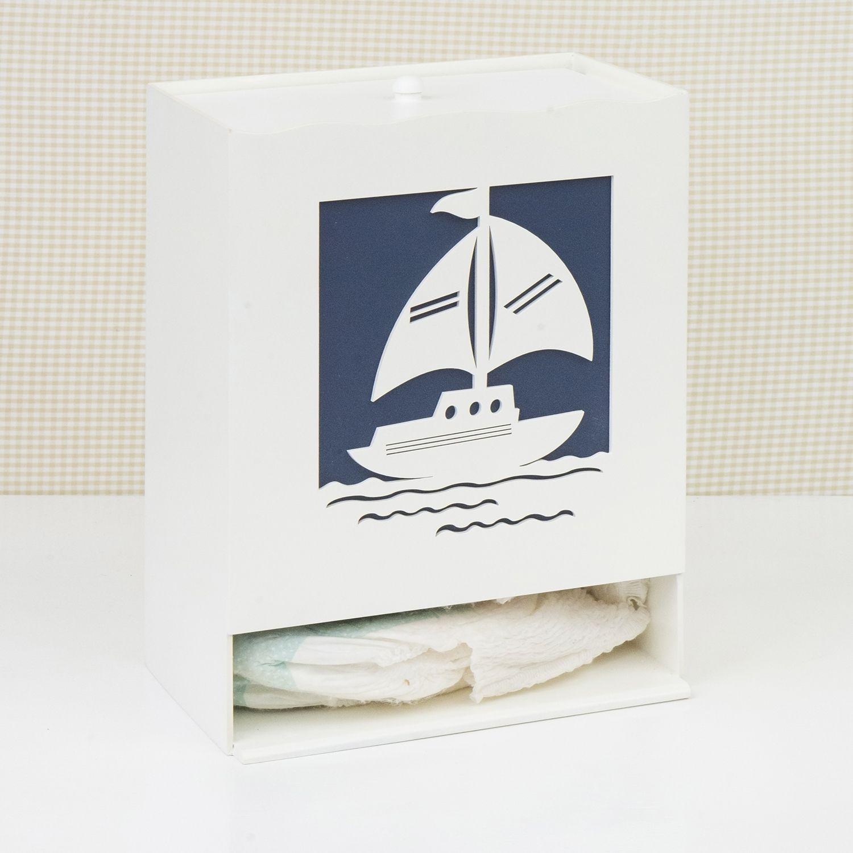 Porta Fraldas Baby Boy Navy Marinho