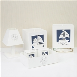 Kit Higiene Baby Boy Navy Marinho