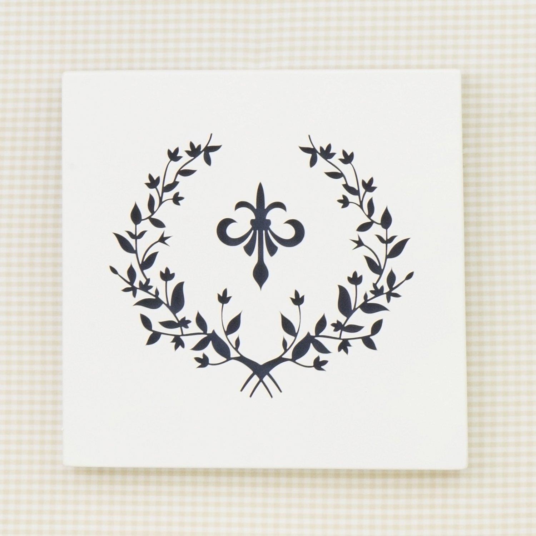 Quadro Decorativo Versailles Marinho