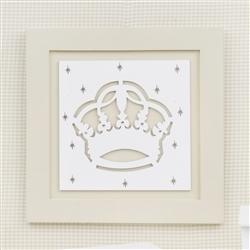 Quadro Decorativo Majestade Real Palha