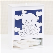 Kit Higiene Completo Love Baby Marinho