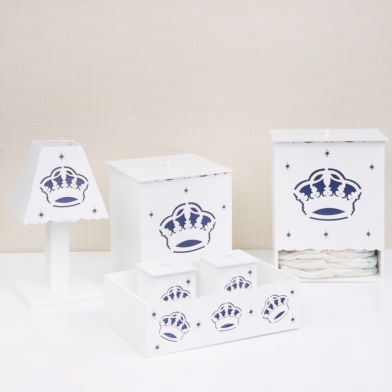 Kit Higiene Majestade Real Marinho