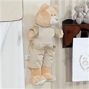 Quarto para Bebê sem Cama Babá Urso Cáqui
