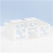 Kit Higiene Completo Love Baby Azul