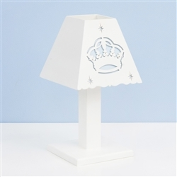 Abajur Majestade Real Azul
