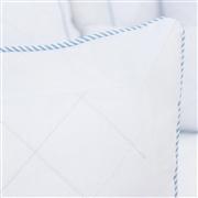Almofada Bordada Lorenza Azul