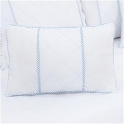 Almofada Retangular Lorenza Azul