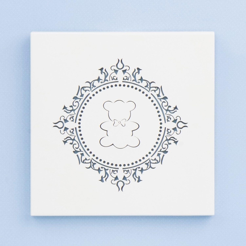 Quadro Decorativo Harry Azul