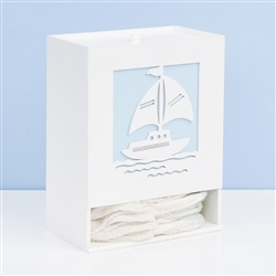 Porta Fraldas Baby Boy Navy Azul