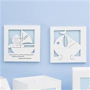 Kit Higiene Completo Baby Boy Navy Azul
