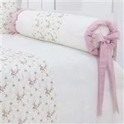 Kit Cama Babá Glamour Floral Rosê