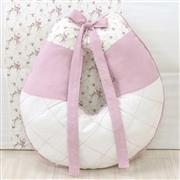 Almofada para Amamentação Glamour Floral Rosê