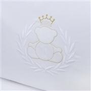 Kit Cama Babá Urso Real Branco