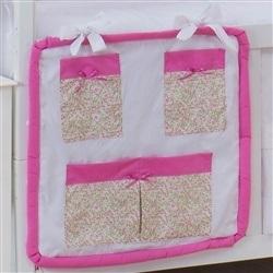 Porta Treco Corujinha Floral Pink