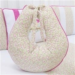 Almofada para Amamentação Corujinha Floral Pink