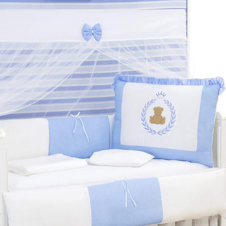 Kit Berço Tedy Azul