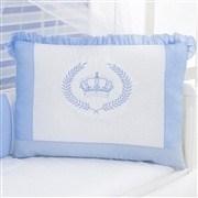 Kit Berço Realeza Coroa Azul