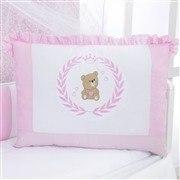 Kit Berço Ursa Imperial Rosa