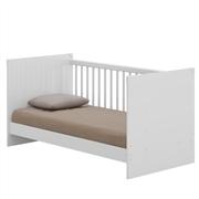 Quarto para Bebê Sorvete Seco com Berço/Cômoda/Guarda Roupas de 3 Portas