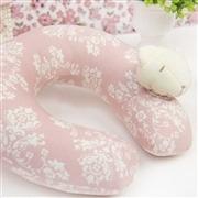 Protetor de Pescoço Ursinha Rosê Floral