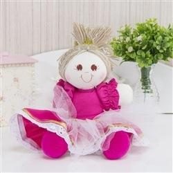 Bonequinha Princesa Sofia Pink
